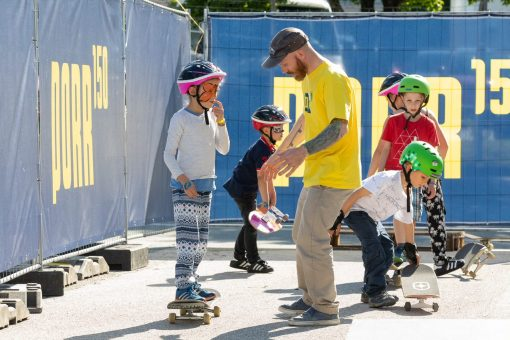 Skateboardtraining