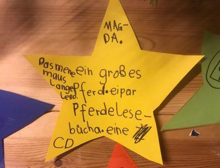 Stern 3 – Kleiner Stern sucht seine Magda – update der Stern hat seine Magdalena gefunden