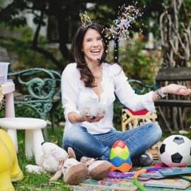 Basteln, Schminke und Konfetti: Die Königin der Kinderfeste
