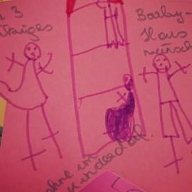 Ein Barbie-Haus für ein Mädchen aus dem Kinderdorf