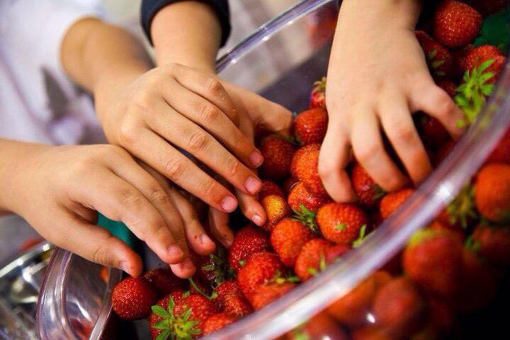 Cleverly_Isst_Erdbeeren